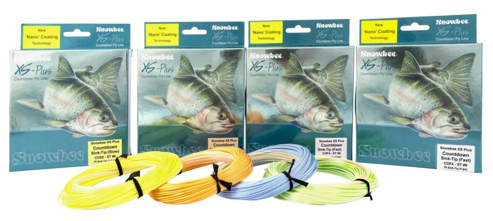 XS-Plus Nano Countdown Sink-Tip Fly Line range