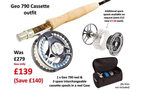 Geo 790 Cassette Reels & Spools-sale – save £140